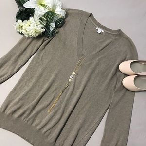 Gap Cashmere Oversized V-Neck Sweater